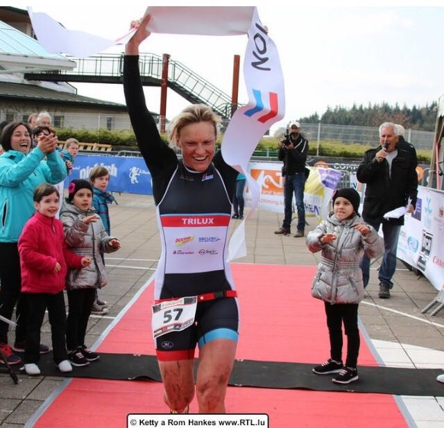 Isabelle Klein - Championne de Luxembourg en triathlon et duathlon